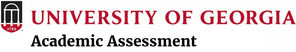 Academic Assessment at University of Georgia Logo