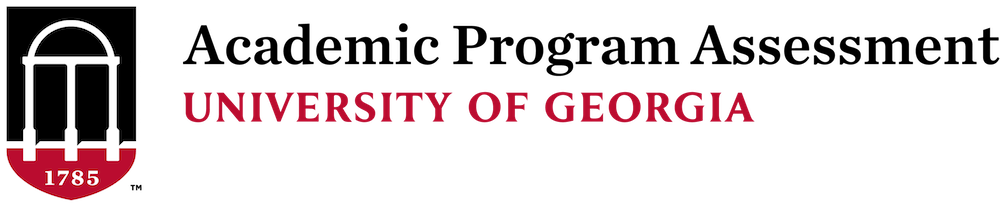 Academic Program Assessment at University of Georgia Logo